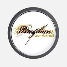 Brazilian Bombshell Wall Clock