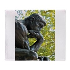 The Thinker Throw Blanket