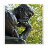 Rodin thinker Drink Coasters