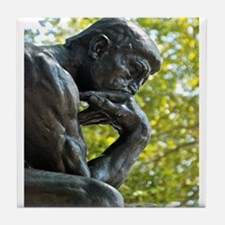 The Thinker Tile Coaster