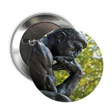 "The Thinker 2.25"" Button"