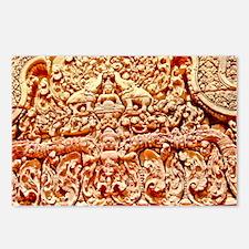 Angkor Wat Sone Facade Postcards (Package of 8)