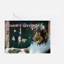 Collie Christmas Greeting Cards (Pk of 10)