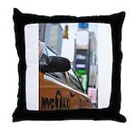 NYC Taxi Throw Pillow
