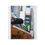 NYC Taxi Throw Blanket