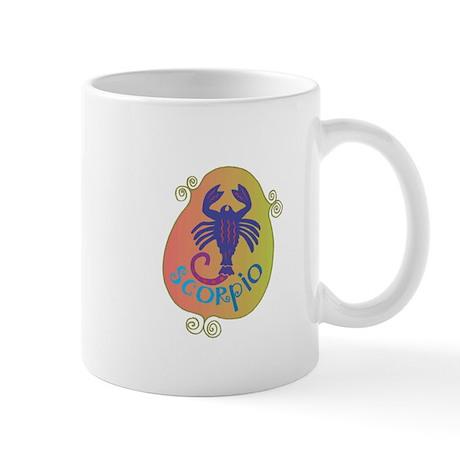 Cool Scorpio Design Mug