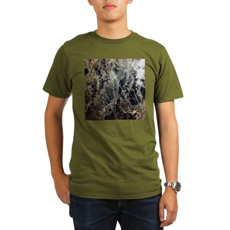 Simply Marble Organic Men's T-Shirt (dark)