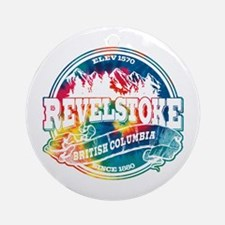 Revelstoke Old Circle Ornament (Round)