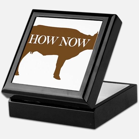 How Now Brown Cow Keepsake Box