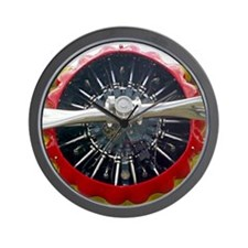 Rotary Cowling Wall Clock