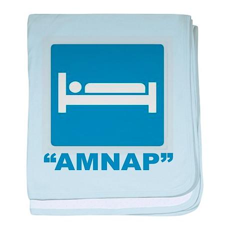 AMNAP baby blanket