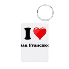 I Heart Love San Francisco.png Keychains