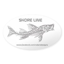 Snook SkeletonCustom Decal