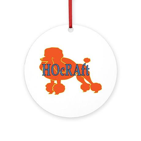 HOcRAft Logo Ornament (Round)