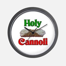Holy Cannoli Wall Clock