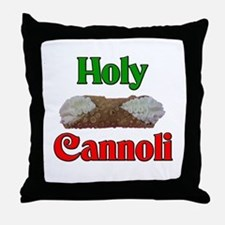 Holy Cannoli Throw Pillow