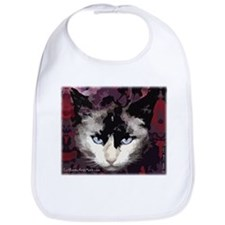 Mostly Siamese Cat Bib