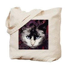 Mostly Siamese Cat Tote Bag
