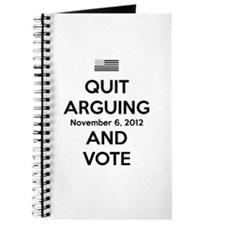 Quit Arguing Vote-Black Journal