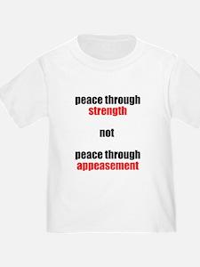 Peace through Strength T