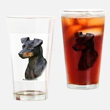 Manchester Terrier 8W13D-07 Drinking Glass