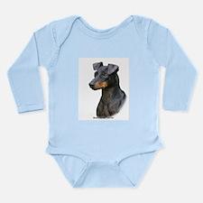 Manchester Terrier 8W13D-07 Long Sleeve Infant Bod