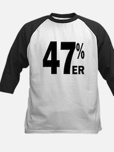Proud 47 Percent-er Kids Baseball Jersey