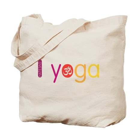 Yoga Town - I YOGA Tote Bag