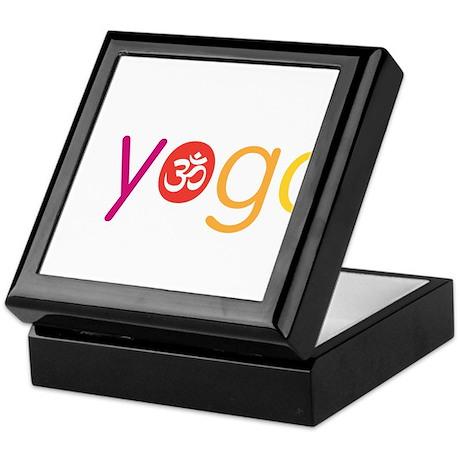 Yoga Town - I YOGA Keepsake Box