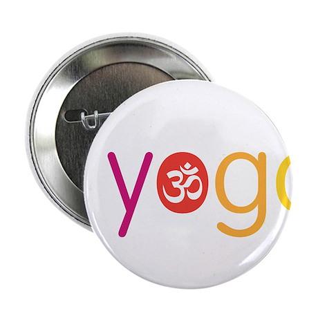 """Yoga Town - I YOGA 2.25"""" Button"""
