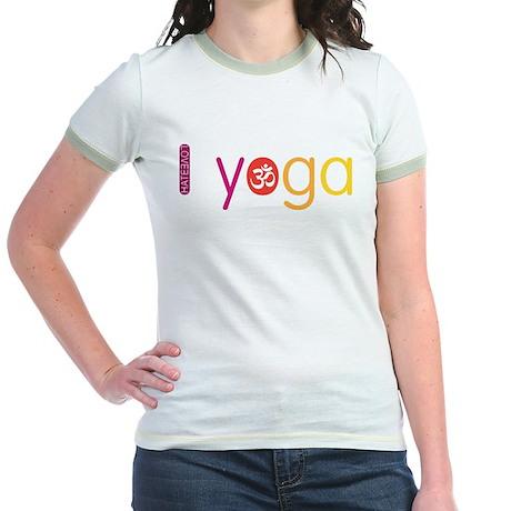 Yoga Town - I YOGA Jr. Ringer T-Shirt