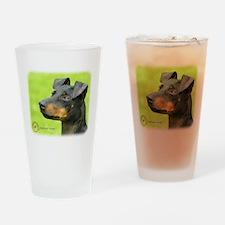 Manchester Terrier 8W13D-12_2 Drinking Glass
