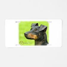 Manchester Terrier 8W13D-12_2 Aluminum License Pla