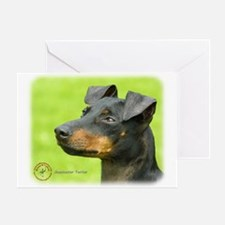Manchester Terrier 8W13D-12_2 Greeting Card