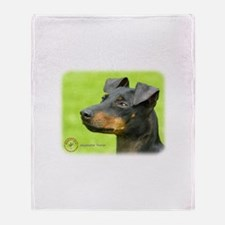 Manchester Terrier 8W13D-12_2 Throw Blanket