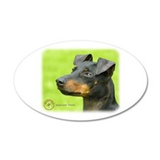 Manchester Terrier 8W13D-12_2 Wall Decal