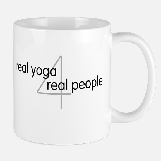 Yoga Town - Real Yoga 4 Real People Mug