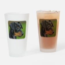 Manchester Terrier 9B085D-07_2 Drinking Glass