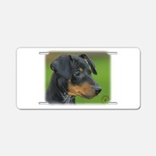 Manchester Terrier 9B085D-07_2 Aluminum License Pl