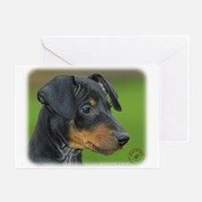 Manchester Terrier 9B085D-07_2 Greeting Card