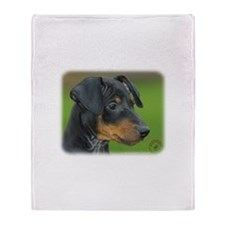 Manchester Terrier 9B085D-07_2 Throw Blanket
