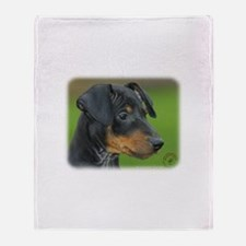 Manchester Terrier 9B085D-07_2 Throw Blanket