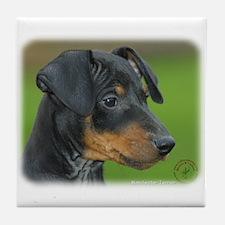Manchester Terrier 9B085D-07_2 Tile Coaster