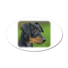 Manchester Terrier 9B085D-07_2 Wall Decal