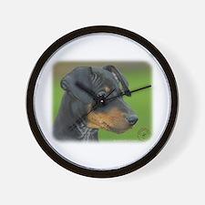 Manchester Terrier 9B085D-07_2 Wall Clock