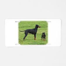 Manchester Terrier 9B086D-17 Aluminum License Plat