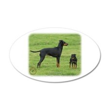 Manchester Terrier 9B086D-17 Wall Decal
