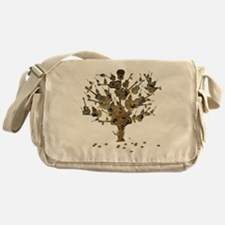 Guitar Tree Messenger Bag