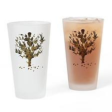 Guitar Tree Drinking Glass