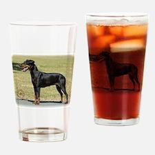 Manchester Terrier 9R032D-094 Drinking Glass